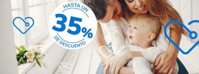 35% de descuento en seguro de salud SALUS