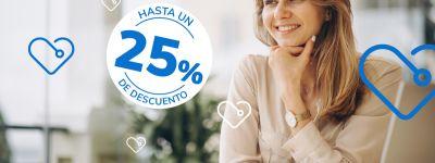 25% de descuento en seguro de salud SALUS