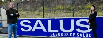 Salus patrocina al CD Covadonga