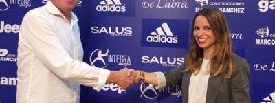 SALUS renueva su patrocinio con el CD Covadonga